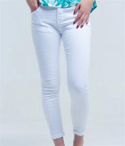 Brya White Skinny Jeans
