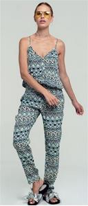 Cassia Geo Tribal Print Jumpsuit