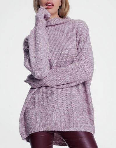 Lilac Knitted Sweater